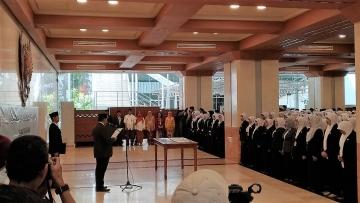 Pelantikan dan Pengambilan Sumpah/Janji Pejabat Fungsional dilingkungan Pemerintah Provinsi DKI Jakarta