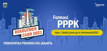 Pengadaan Pegawai Pemerintah Dengan Perjanjian Kerja (PPPK) Jabatan Fungsional Di Lingkungan Pemerintah Provinsi DKI Jakarta Tahun Anggaran 2021