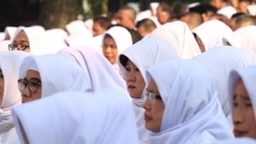 Pelaksanaan Pengambilan Sumpah/Janji PNS - Rabu, 26 Juni 2019