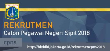 Rekrutmen Calon Pegawai Negeri Sipil (CPNS) Tahun 2018 di Lingkungan Pemerintah Provinsi DKI Jakarta